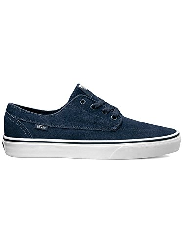 Vans U Brigata Suede - Zapatillas bajas unisex dress blues-true white
