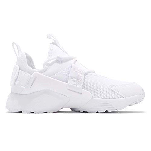 reputable site 362b2 cc187 Galleon - Nike Air Huarache City Low White White-White (Womens) (9 B(M) US)