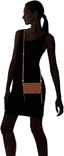 One Mesa Crossbody All Leather Brown Vera in RFID Mallory Bradley q1wRX1
