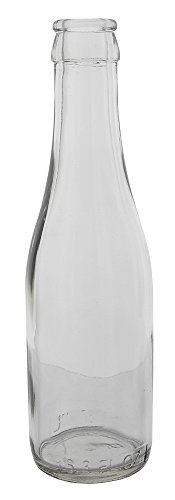 187 ml Clear Champagne Bottles, 24 per case]()