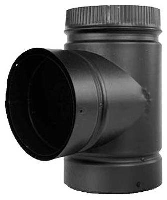 - SELKIRK CORP DSP6TE-1 Double Wall Pipe Tee, 6-Inch