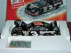 Revell Collection Dale Earnhardt Sr #3 Goodwrench Service Plus Monte Carlo Talladega No Bull Raced Win Version With Donut On Door 76th and Final Win of Earnhardt's Career 1/24 Scale Diecast Hood Opens Trunk Opens HOTO With Victory Lane Celebration Confetti/Play Money Limited Edition (Revell Collection)