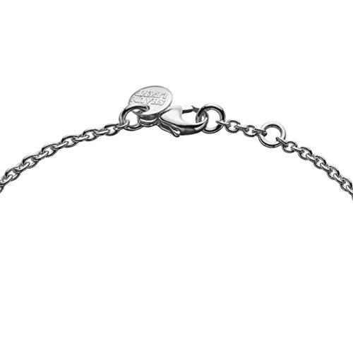Shaun Leane Collier Acier Inoxydable Ronde Diamant Transparent Femme 18cm