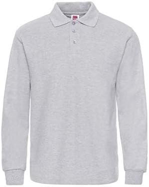 NISHIPANGZI Camisa Polo Casual Moda Hombre Long-Sleeve Mens Polo ...