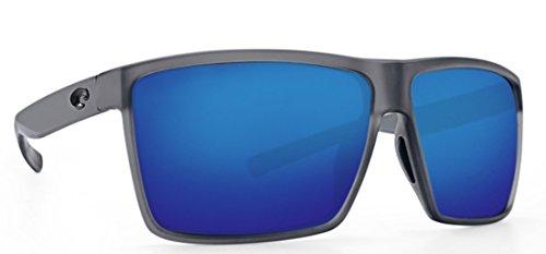 Costa del Mar Rincon Mt Smoke Crystal Blue Mirror 580P Glasses with Cloth ()
