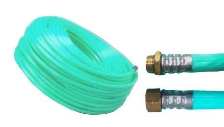 十川ゴム 動噴ホース グリーン軽量スプレーホース 5.0Mpa 8.5mm×40m金具付 B00DE23SZA