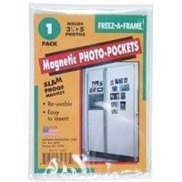 Freez A Frame Magnetic 3-1//2 x 5 inches Photo Frame FRFAF35