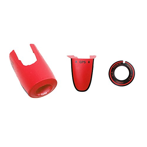 Parrot Bebop Drone EPP Nose, Red
