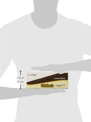 Bakers Unsweetened Baking Chocolate Squares, 4 Ounce /(Pack of 12/) Baker/'s 10043000054014