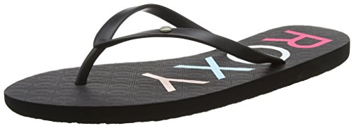 Black Mujer Negro Sandy Chanclas Bl0 para Roxy Fqwp7fOwn