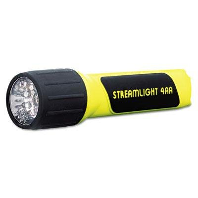 Streamlight - Propolymer Led Flashlight 4Aa (Included) Yellow/Black