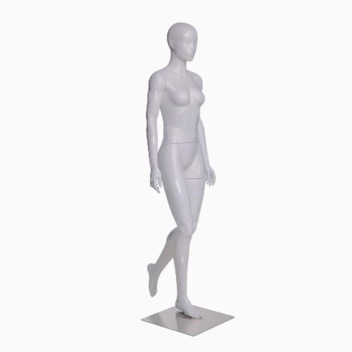 (MZ-ZL-F01) ROXYDISPLAY™ Female Head Mannequins, Elegant Moving Pose with Hiking Legs. by ROXYDISPLAY™ (Image #5)