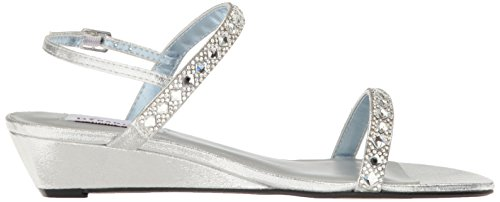 Women Sandal Jasmine Silver Dyeables Wedge Womens Inc BwExqZT