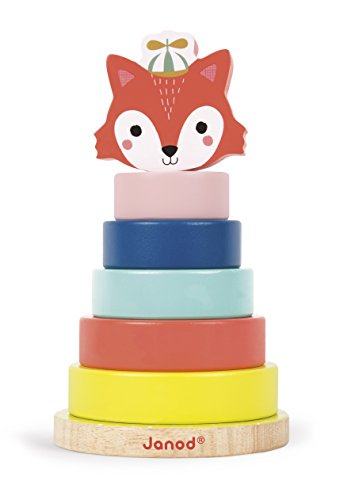 Janod Baby Forest Fox Stacker product image