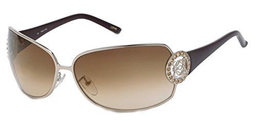 Grey de para Sol SLW300S658FFS Gafas 65 Mujer Shiny Loewe Gold qEw1p0