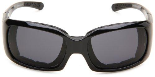 única Lens Lens Gafas negro Anti Fog Fog Bobster rectangulares de Talla Smoked negro Black sol Smoked Anti Black Frame Negro Ava convertibles Frame fOgBqxZw