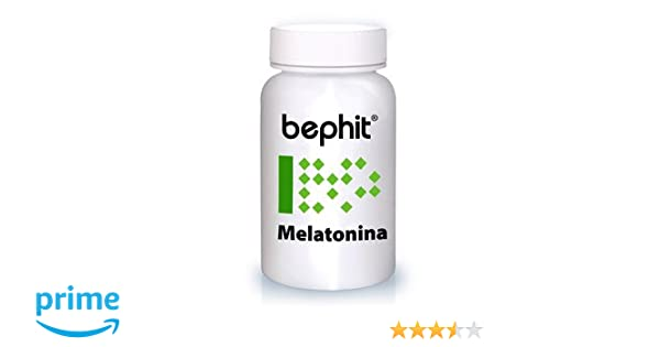 Bephit Melatonina 175 Mg Suplemento - 100 Cápsulas: Amazon.es: Salud y cuidado personal