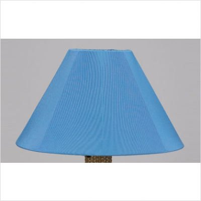 Catalina Umbrella Table Outdoor Lamp with Sunbrella Shade Lamp Finish: Bronze, Lamp Shade: Sky Blue by Patio Living Concepts