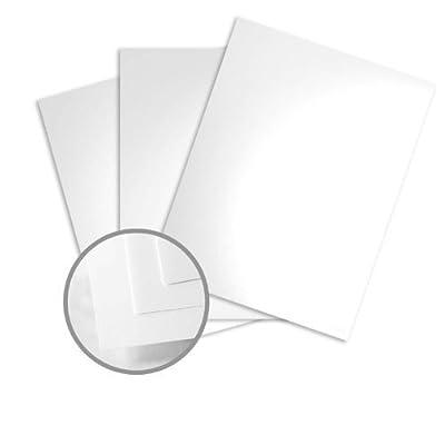 Color Copy Gloss Pure White Paper - 8 1/2 x 11 in 100 lb Text Glossy C/2S 500 per Ream
