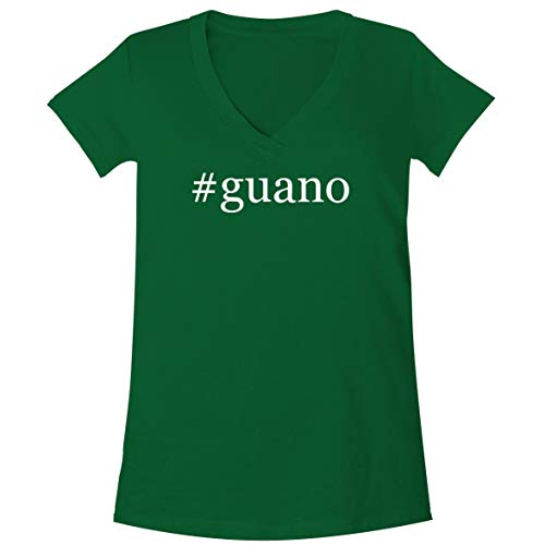 (The Town Butler #Guano - A Soft & Comfortable Women's V-Neck T-Shirt, Green, XX-Large)