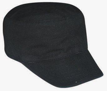 DESIGNER BLACK CADET CAP ARMY HAT FLAT MILITARY  Amazon.co.uk ... f2517a538c9