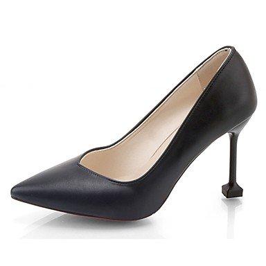 Chunky CN39 UK6 Mujer De Flip Caminar Casual Flops Heelblack Zapatillas Blanco Verano RTRY Confort US8 EU39 Pu amp;Amp; qTpvUB