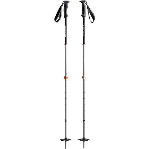 Black Diamond Polos de esquí Traverse Pro de Color Negro con Diamante, Color Naranja 105-155