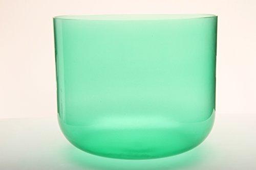 TOPFUND Singing Bowls F Heart Chakra Clear Quartz Crystal Singing Bowl 10 inch [並行輸入品]   B07M6D11GP