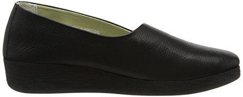 Noir Escarpins à Softinos Plateforme Femme Smooth Ako416sof Black qwxv7S6