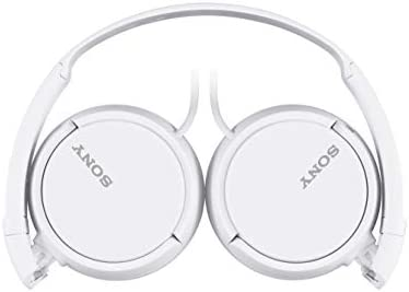 Sony ZX Series Wired On-Ear Headphones, White (MDRZX110/WHI) 31qVwrqnpvL