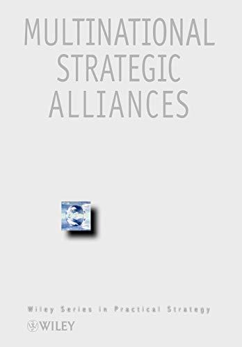 Multinational Strategic Alliances (The Best Strategic Alliances)