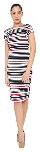 TANTRA DRESS9517, Robe Décontractée Femme, Bleu, S