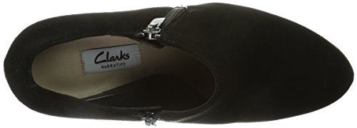 Clarks Amos Kendra Taupe Suede Negro (Black Sde)