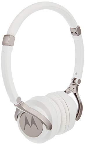 Motorola Pulse 2 On Ear Wired Headphone  White