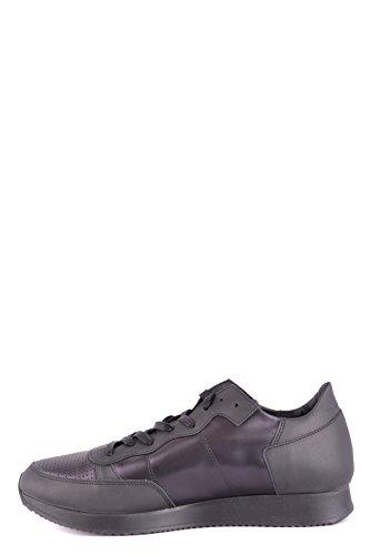 Modello Philippe Mcbi238077o Sneakers In Pelle Nera
