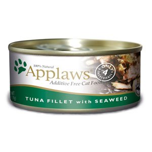 Applaws Tuna Fillet with Seaweed Canned Cat Food 5.5oz (24 in case)