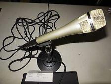Tabletop Directional Microphone Uni (LANIER UNI-DIRECTIONAL DYNAMIC MICROPHONE 500ohm, Table Top Stand, XLR Audio Cable)