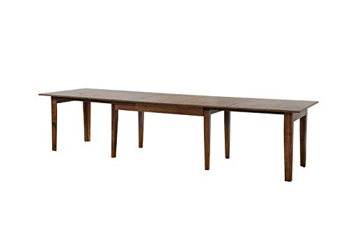 Sunset Trading DLU-BR134-AM Simply Brook Table, Amish Brown