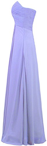 Women's Dresses Bridesmaid ANTS Lavender Evening Gowns Chiffon Long vUqdH