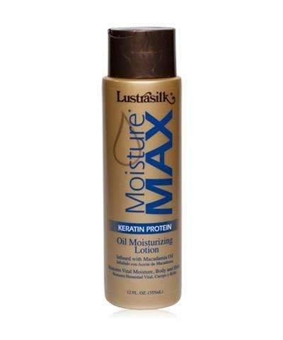 (LUSTRASILK Moisture Max Oil Moisturizing Lotion, 12)