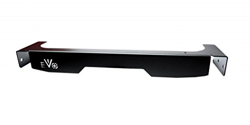 Jeep Wrangler 2007-2018 JK Rear Bumper Fascia, Steel Black Powdercoat EVO-1111B - Fascia Rear Bumper