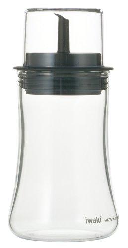 Iwaki Soy Sauce Bottle with Lid (S) 120ml - Sauces Bk