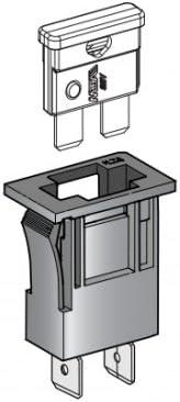Einbau Sicherungshalter für Standard KFZ Sicherungen SNAP-IN SH-8