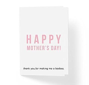 Amazon.com: Gracias por hacerme un divertido día de la madre ...
