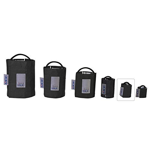 MDF® Latex-Free Infant Replacement Blood Pressure Monitor Cuff - Single Tube - Black (Infant Cuff)