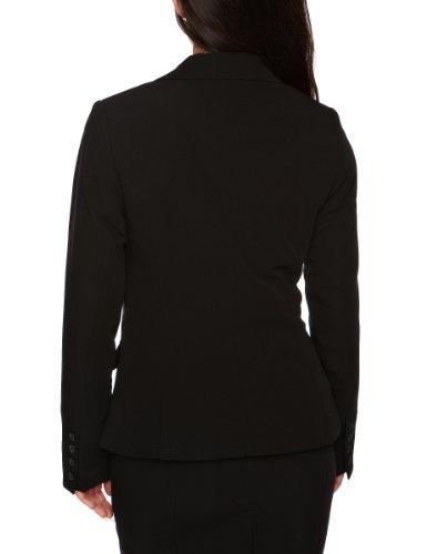 Solapa Negro Larga Para Inwear Abotonado Cuello De Mujer Con Manga 050 Americana SfxqwR0