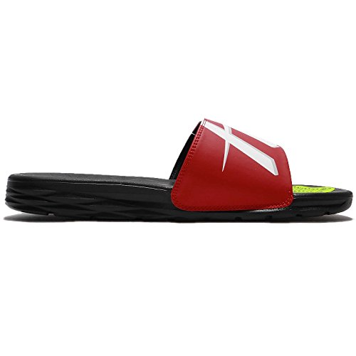 Black NIKE Benassi Black Solarsoft NBA RED Men's Red F4Bq1