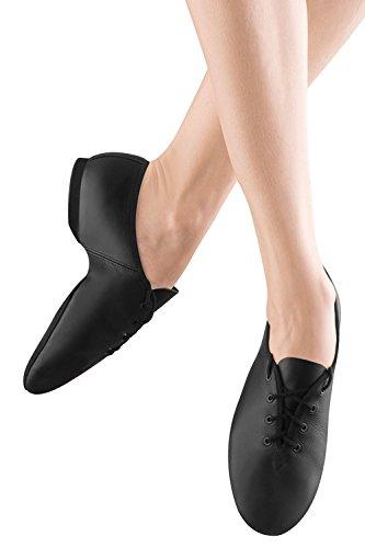 So Danca Zwart Lederen Veterschoenveter Schoen Voor Volwassenen Maat 10