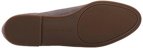 Brand Lucky Lk Women's Steel Flat Grey Calandra Ballet dqSxx