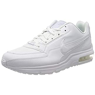 Nike Mens Air Max Ltd 3 Sneaker, White White White, 44.5 EU 12